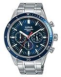 Lorus Orologio Cronografo Quarzo Uomo con Cinturino in Acciaio Inox RT303HX9