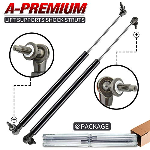 A-Premium Tailgate Rear Hatch Lift Supports Shock Struts Replacement for Jeep Grand Cherokee WH 2005-2010 2-PC Set
