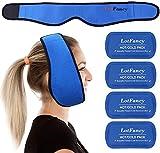 LotFancy Kühlkompresse Kühlpads für Kiefer Gesicht Kopf und Kinn, einstellbare...