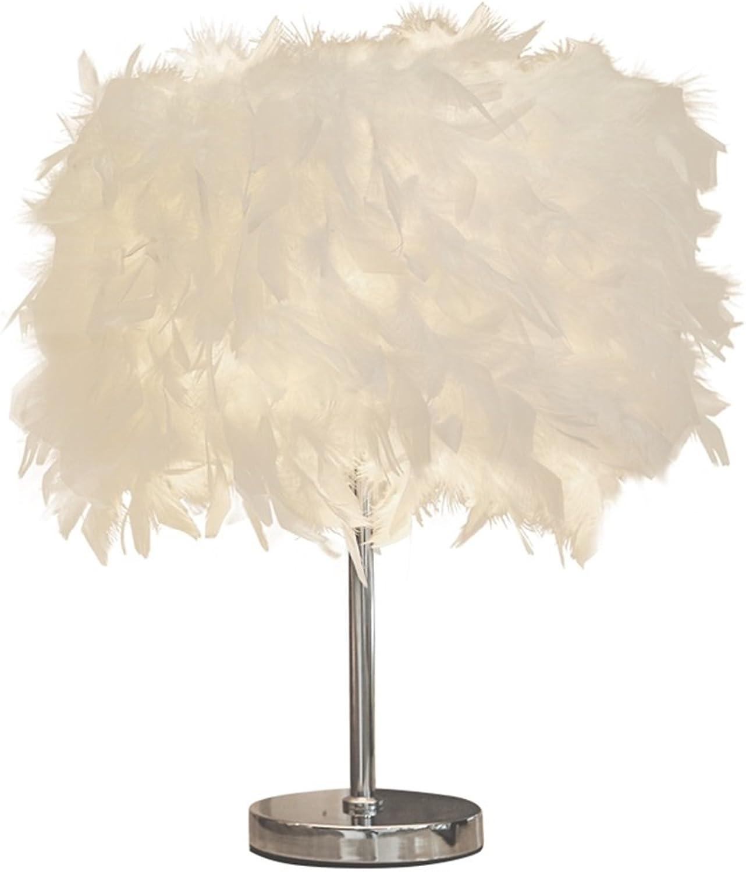 ASL Kreative Tischlampe, Hochzeit Tisch Lampe Schlafzimmer Nachttisch Lampe Heirat Zimmer Tischlampe einzigen Kopf E27, 25  43CM wei (gre   20  33cm)