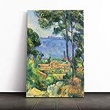 BIG Box Art Kunstdruck auf Leinwand, Motiv Paul Cezanne