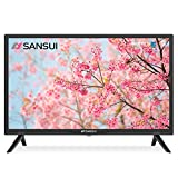 SANSUI 24 Inch TV 720P Basic S24 LED HD TV High Resolution Flat