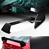 FULL CARBON FIBER REAR TRUNK SPOILER WING Compatible with MITSUBISHI LANCER EVO 8/9 02-07