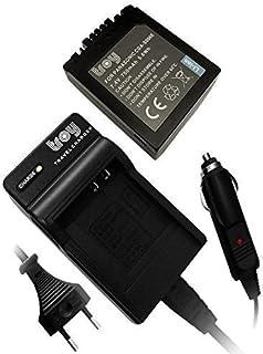 DMC-FZ8 DMC-FZ50 DMC-FZ5 DMC-FZ35 DMC-FZ7 Cargador Micro USB vhbw para c/ámara Panasonic Lumix DMC-FZ3 DMC-FZ38 DMC-FZ4 DMC-FZ30