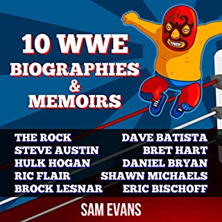 10 WWE Biographies and Memoirs cover art
