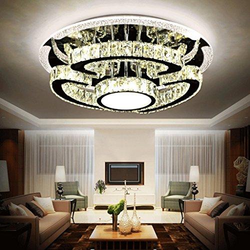 Beleuchtung LED Kristall Deckenlampe Deckenleuchte in Kristall, Wohnzimmer Licht des restaurant, Atmosphäre von Luxus Deckenleuchte Bett beheizt, Licht Beleuchtung der Hotel 18cm 50*
