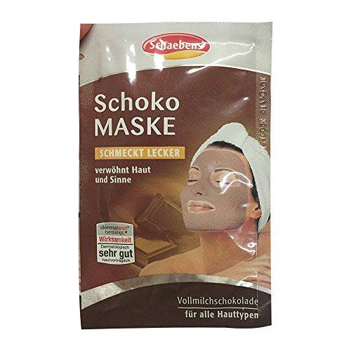 Schaebens Gesichtsmaske Schoko 15 ml