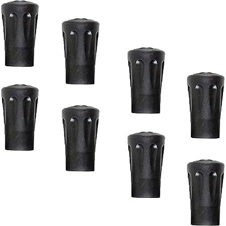 OTraki Walking Stick Caps 6 Pack Rubber Alpenstock Head Cover Replacement Rubber