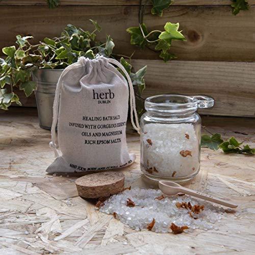 Peppermint Eucalyptus Healing Bath Salts With Essential Oils And Epsom Salts