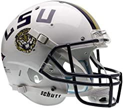 LSU Tigers White Officially Licensed Full Size XP Replica Football Helmet
