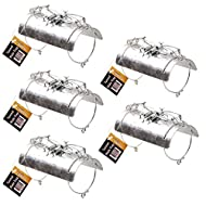 Tunnel Mole Trap Heavy Duty Traps Fast Quick Easy Kill Control Repellent Metal (5)
