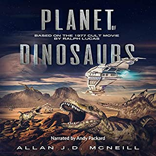 Planet of Dinosaurs audiobook cover art