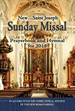 St. Joseph Sunday Missal and Hymnal for 2018