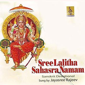 Sree Lalitha Sahasra Namam