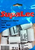 10 x Fluorescent Light Starter Switches Switch 4-65W 220-240v by Supalec