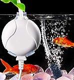 ELETEK Sauerstoffpumpe für Aquarium Mini Leise Aquarium Luftpumpe für Fischbecken