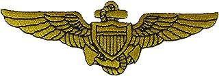 NAVAL AVIATOR PILOT WINGS Patch - Veteran Owned Business