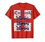 England Soccer Jersey Style Team National Flag Rugby Gift T-Shirt