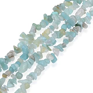 Natural Gemstone Smooth Gem Chips Stone Beads for Earrings Bracelet Necklace Charm Keychain Anklet Jewelry Craft Making Blue