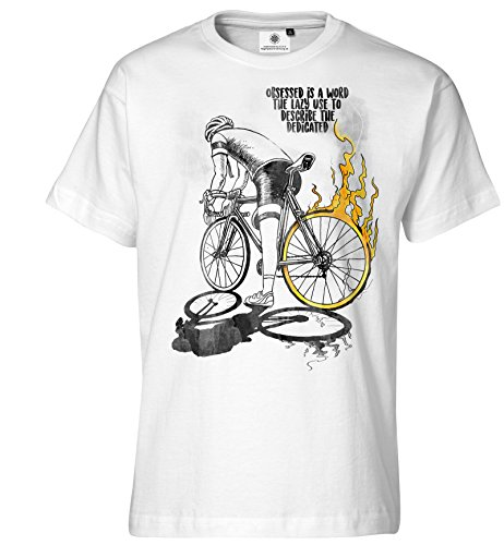 Customized by S.O.S heren T-shirt bike Spirit
