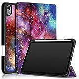YHX Étui en cuir pour tablette Apple iPad Mini 2021 (iPad Mini 6) 21,3 cm, résistant aux chocs,...