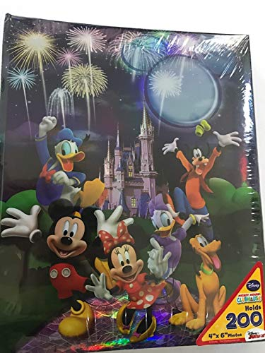 Disney Mickey Mouse Castle Sweet Memories 200 Picture Photo Album 4x6