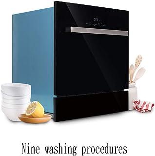 Smart dishwasher XGG Lavavajillas Incorporado Multifunción, Mini Lavavajillas Portátil con Encimera, Cocina Familiar Pequeña con 8 Configuraciones De Lugar, Mudo, Negro / 1380W