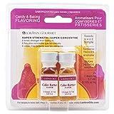 LorAnn Cake Batter Super Strength Flavor, 1 dram bottle (.0125 fl oz - 3.7ml) - Twin pack blistered