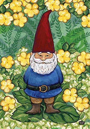 Toland Home Gartenzwerg, 31,8 x 45,7 cm, dekorativ, süßer Frühling/Sommer, gelbe Blume, Gartenflagge