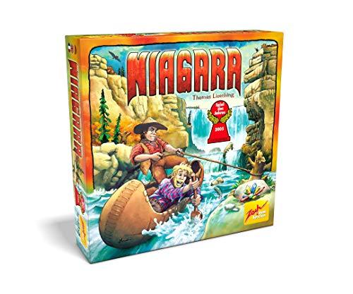 Zoch 601124900 - Niagara - Spiel des Jahres 2005 - Eine atemberaubende Schatzsuche im Wettlauf gegen die Strömung, ab 8 Jahren