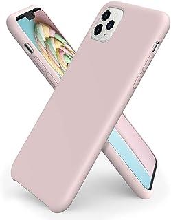 ORNARTO Compatibel met iPhone 11 Pro Max siliconen case, ultradunne vloeibare siliconen telefoonhoes, bescherming voor iPh...