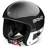 Briko Vulcano Fis 6.8 Jr Casque de Ski Unisexe pour Enfant XS 904N003/Black