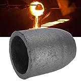 8 kg de grafito crisol, grafito de carburo de silicio en forma de copa, herramienta de fusión de crisol de fundición en horno