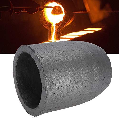 Crogiolo della grafite di 8Kg, grafite del carburo di silicio di forma della tazza, strumento di fusione di fusione del pezzo fuso della colata
