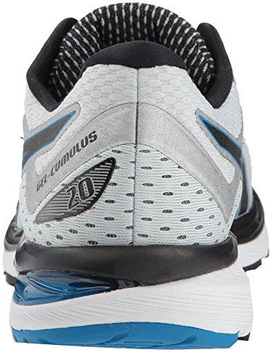 ASICS Men's Gel-Cumulus 20 Running Shoes, 11.5M, Glacier Grey/Black 3
