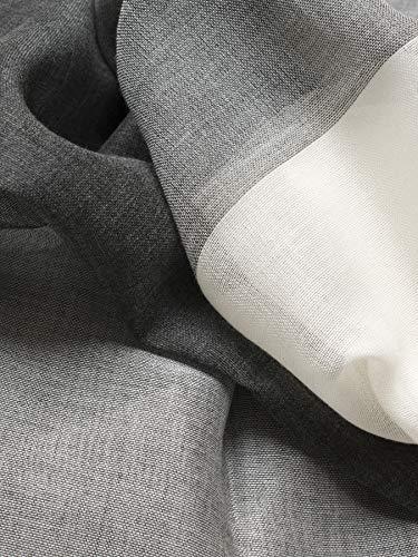 [タバラット]ストールメンズ薄手日本製綿100%京丹後産抗菌防臭(グレー)