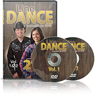 Line Dance Lessons on Vol 1 & 2 - Learn 20 Line Dances, Plus two 30 Minute Bonus Workouts! Instruction & Exercise in a Set