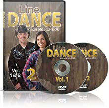 Line Dance Lessons on DVD Vol 1 & 2 - Learn 20 Line Dances, Plus two 30 Minute Bonus Workouts! Instruction & Exercise in a Two Disc Set