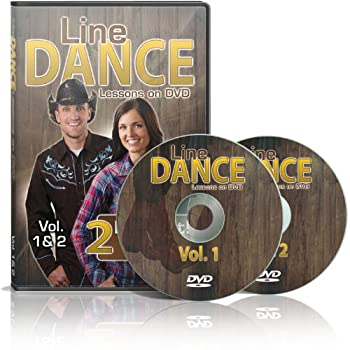 Line Dance Lessons on DVD Vol 1 & 2 - Learn 20 Line Dances Plus two 30 Minute Bonus Workouts! Instruction & Exercise in a Two Disc Set