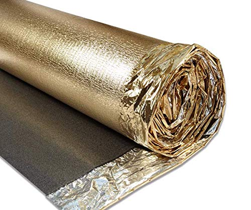 Acoustic Sonic Gold Underlay 5mm Thick - Choose Any Size - for All Wood, Laminate Flooring - Damp...