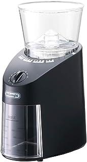 デロンギ コーヒーミル / コーヒーグラインダー コーン式 中挽き~極細挽き ブラック KG364J