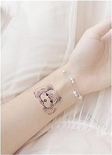 Qqinghan Dierlijk Waterdichte Tijdelijke Tattoo Sticker Kat Vos Tatoo Body Art Vrouwen Nieuwe Nep Taty Schattige Kleine Ta...