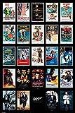 1art1 James Bond 007 - Kinoplakate Von Dr No Bis Spectre