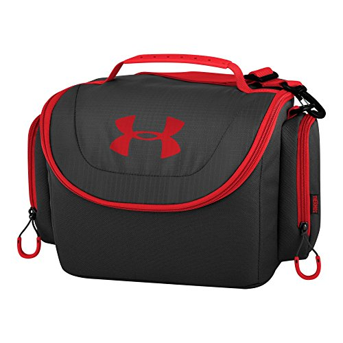 Under Armour 12 Can Soft Cooler, Black/Red