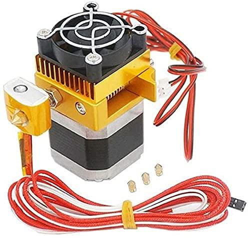 Parti della stampante 3D Estrusore Mk8 assemblato 0.2/0.3/0.4/0.5mm Ugello di stampa Hot End adatto per stampante 3D Makerbot Prusa I3 Reprap (Colore: predefinito) Stabilità (Color : Default)