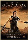 H/E Gladiator Classic Nostalgic Movie Retro Poster