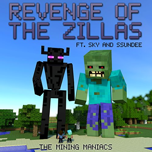 Revenge of the Zillas audiobook cover art