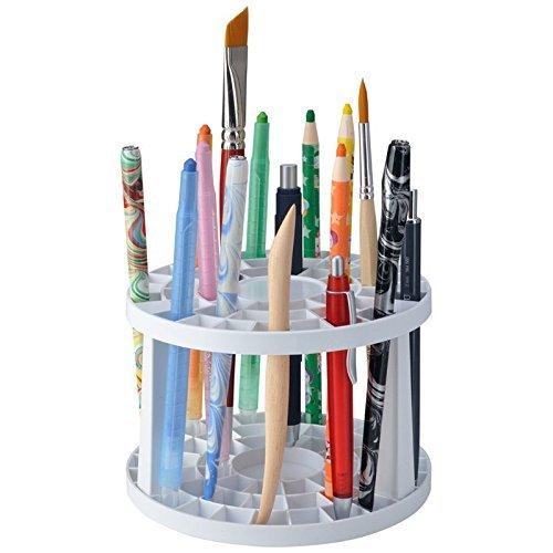 Ami Künstlerbedarf NEU Stifte- und Pinselhalter aus Kunststoff, rund