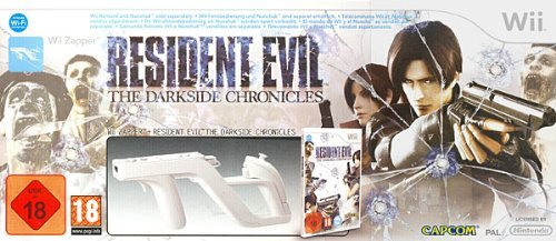 Resident Evil: The Darkside Chronicles (Wii Zapper Bundle) [IT Import]