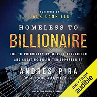 Homeless to Billionaire audiobook cover art